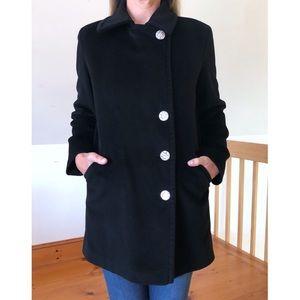 Agnes B. Wool Long Pea Coat